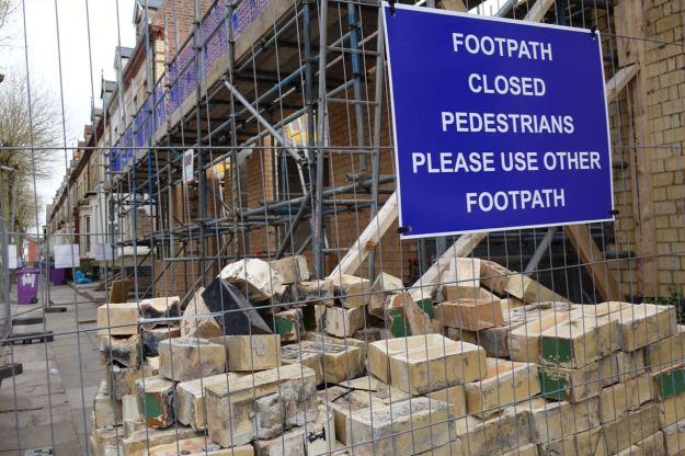 There's rebuilding in Jermyn Street too.