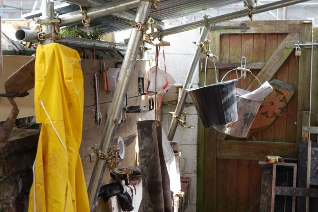 At the back of one of the houses in Cairns Street, is a little workshop.