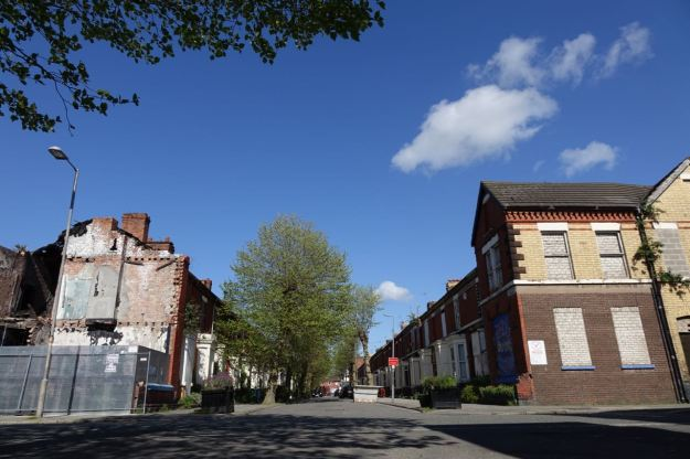 Cairns Street Liverpool 8, 16th May 2015.