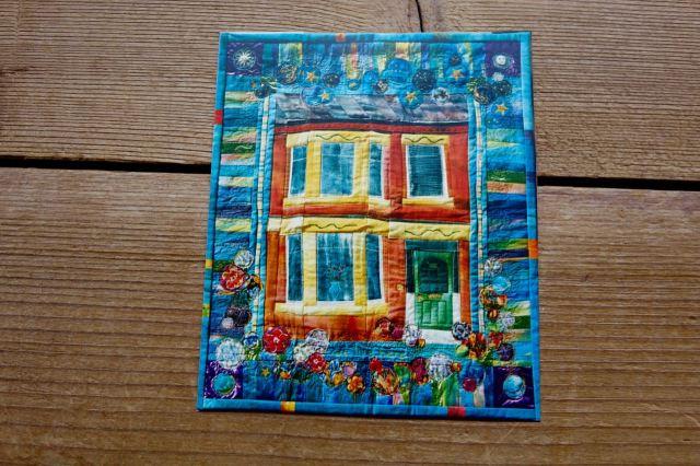 'We live here' Sarah Horton quilt, 1995.