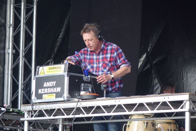 Followed by a very welcome surprise. Yes that's Andy Kershaw playing the records.