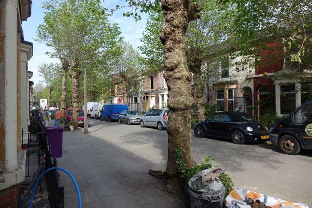 Cairns Street in Granby, this week.