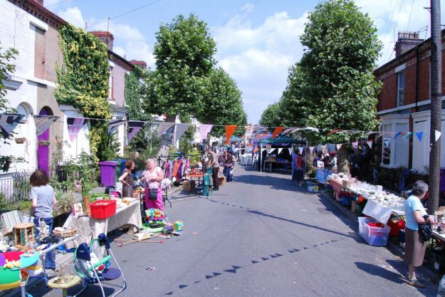 The Street Market.