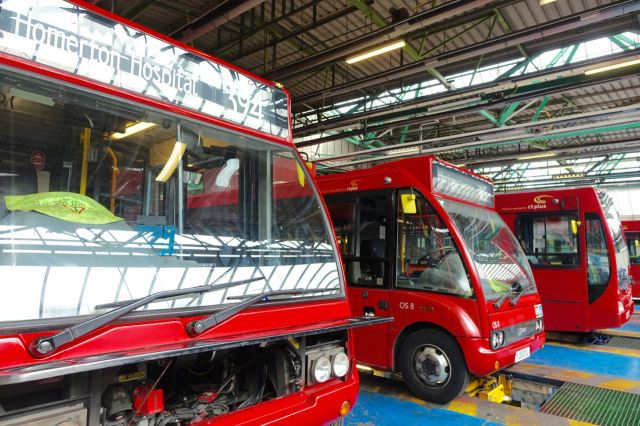 Now Hackney Community transport has grown into a much bigger operation.