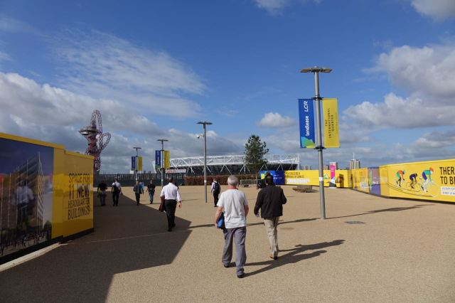 And in the morning we arrive in Stratford. Where HCT ran the buses during the construction of the Olympics 2012 site.