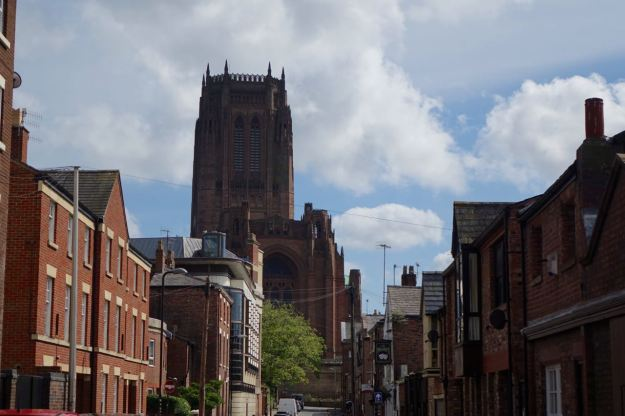 The Cathedral from Pilgrim Street.