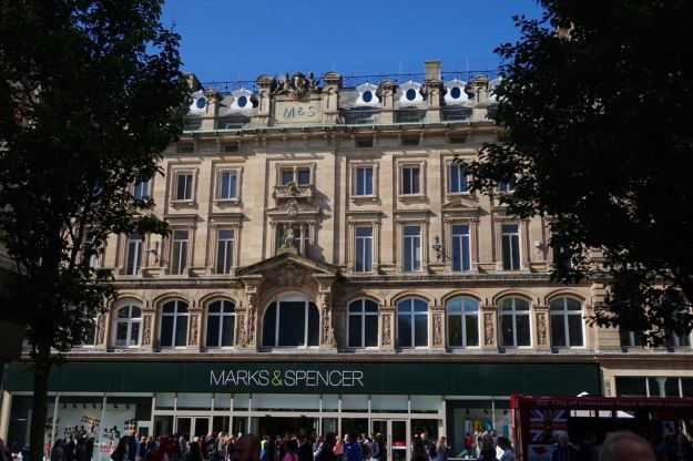 The beaty of Marks and Spencer's?