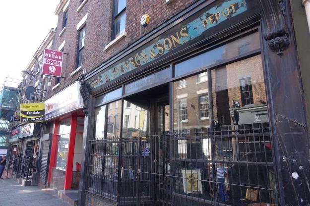 Still on Slater Street, Jackson's Art supplies. A plucky survivor in a street of bars.