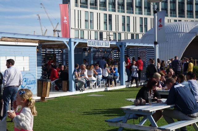 And the Boardwalk Bar. Well done, summer in the city.