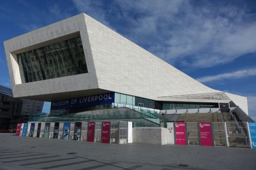 'We're just finishing our external works' the Museum of Liverpool reassures us.