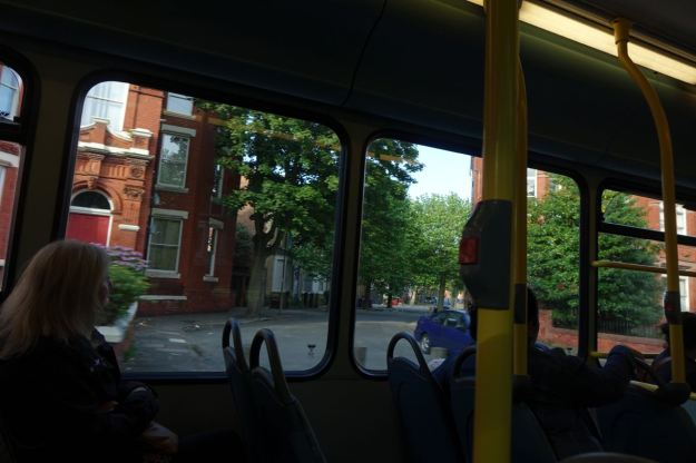 But for me, it's along Princes Avenue, past Granby and nearly home.