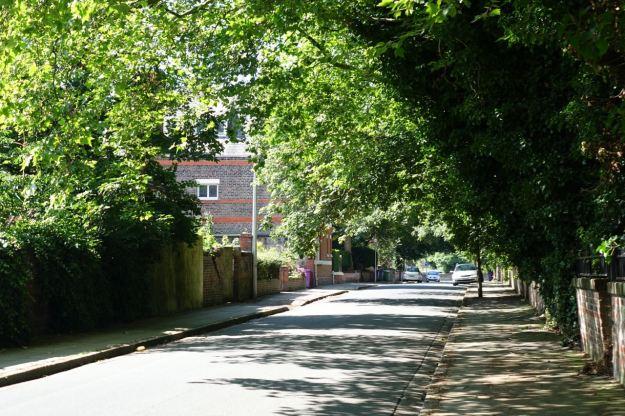 Round into  Normanton Avenue.