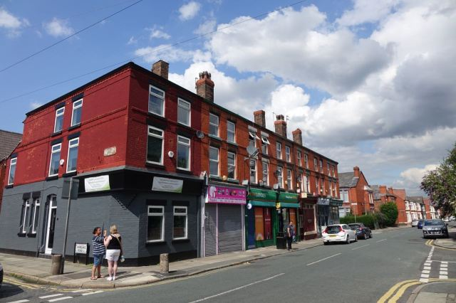 Penny Lane, not that much different to in the 1960s.