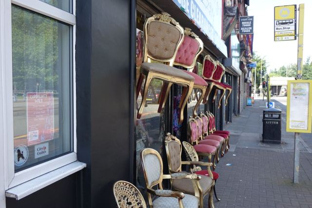 Down on Smithdown Antwakky's are very proud of their chairs.