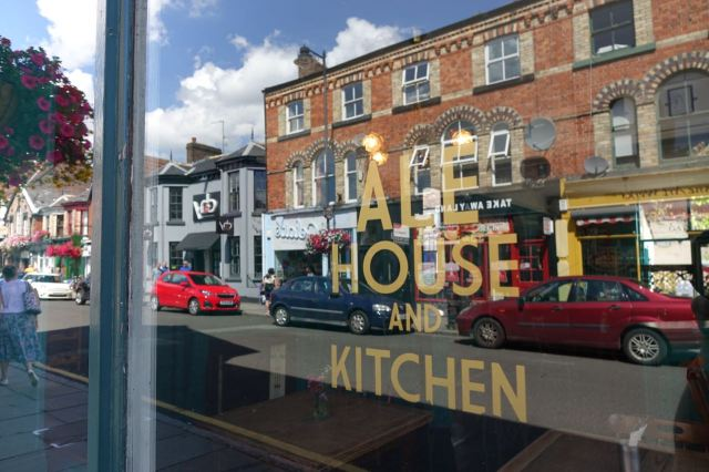 Hope the 'Ale House and Kitchen' is working out?
