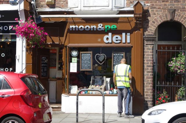 The Deli of its sister café just along the road.