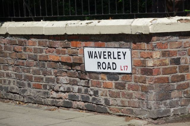 And all the roads named after Walter Scott places or characters. Why not?