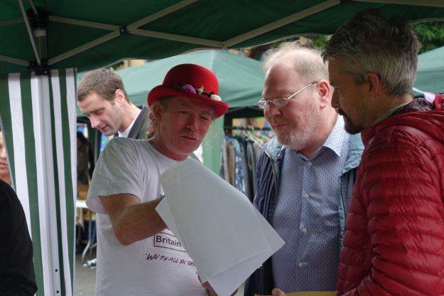 Tommy here talking with Roger Phillips from Radio Merseyside.