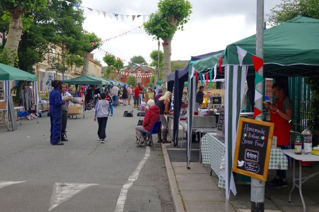 A good turnout of stalls.