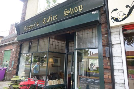 Cooper's Coffee Shop, Aigburth Road.
