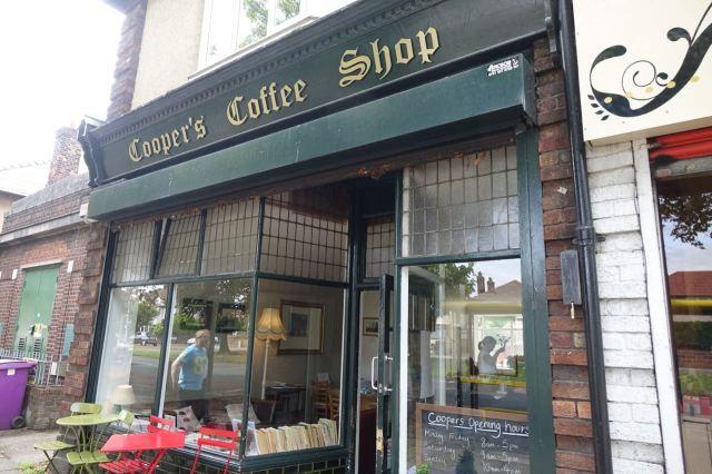 Cooper's Coffee Shop, Aigburth Road.