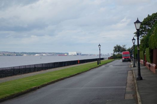 With a good view of Cammel Laird's.