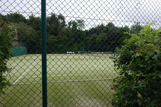 It's got its own lawn tennis club!