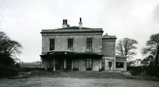 Grassendale House as was. 'Haunted' apparently!