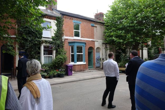 So having just completed the first of the Community Land Trust houses, obviously we had a look around.