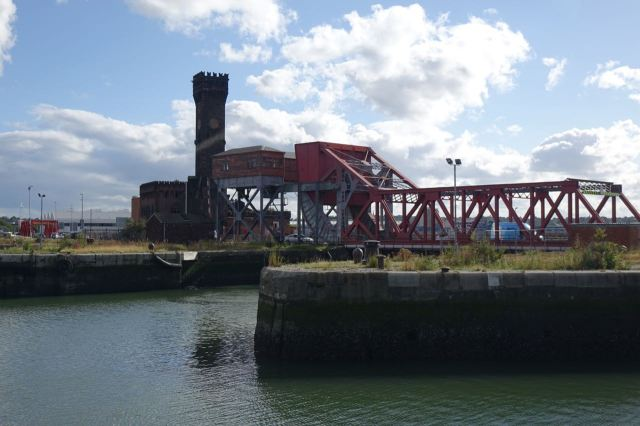And oh look. A second Bascule Bridge.