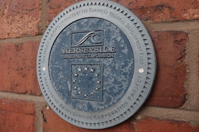 Where this building was later renovated by the Merseyside Development Corporation.