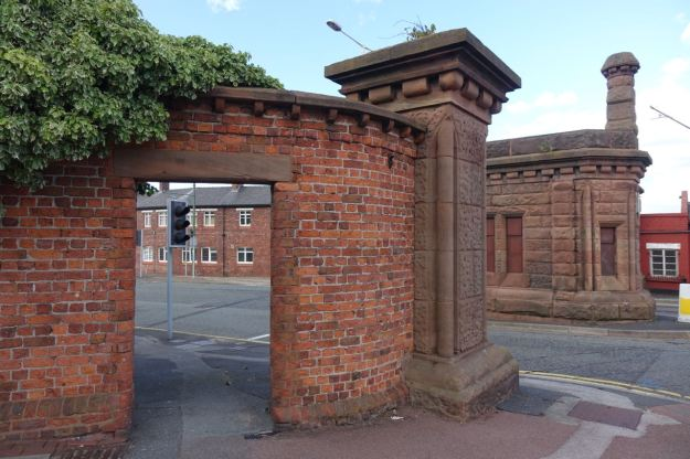 The beautiful 1868 Dock Gateway.