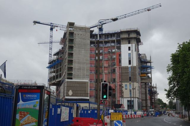 Off the 76 by the rapidly being built now Royal Liverpool Hospital.