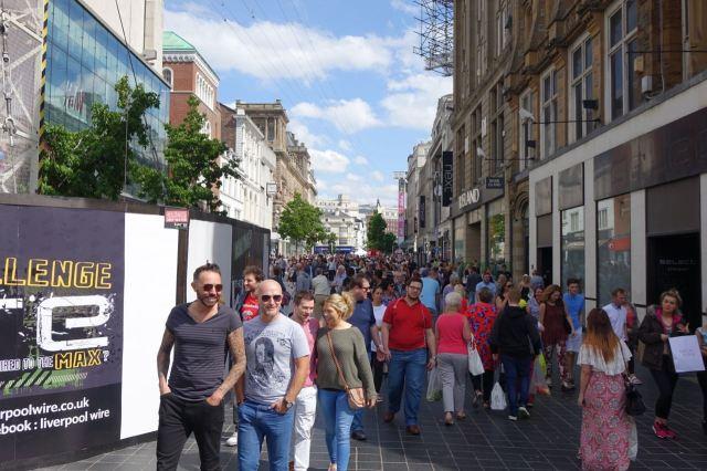 And a full Church Street.