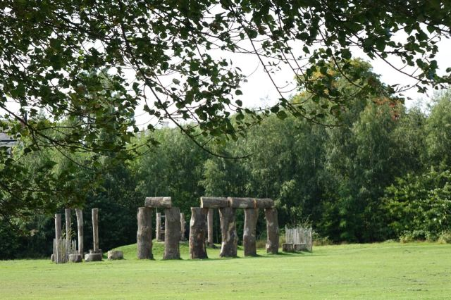 And its own Stonehenge.