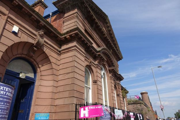 Next door is another bit of open Heritage, Toxteth Town Hall.