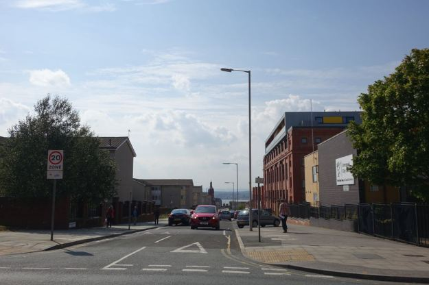 Down the hill there, the Florrie. Quite a lot of Heritage.