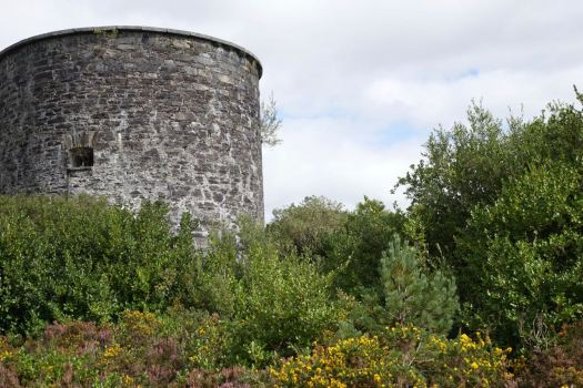 There's also a Martello Tower.