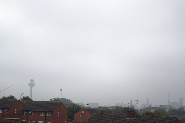 Fondly imagining I'm going to be showing you one of the finest views in all of Liverpool.