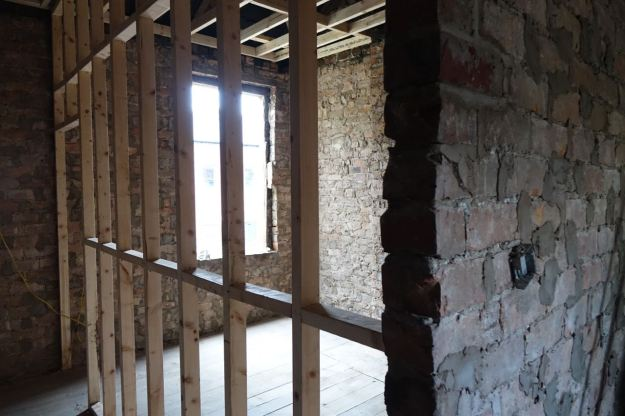 Starting new walls.