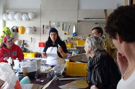 And so new features are being created by Assemble and their team of local people along at the Granby Workshop.