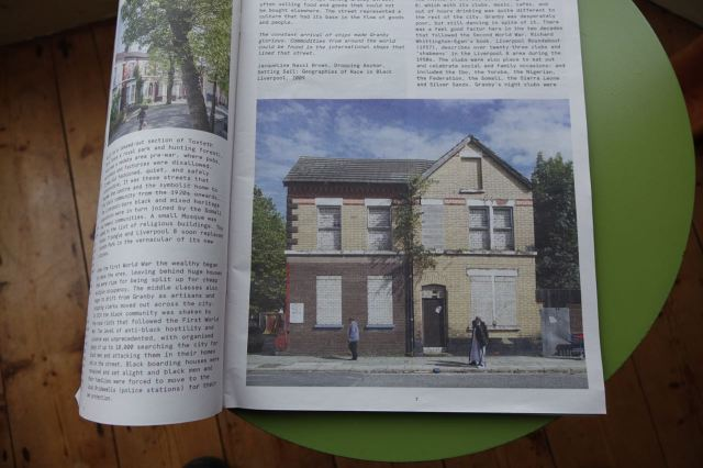 The catalogue contains articles about what we're all up to in Granby.