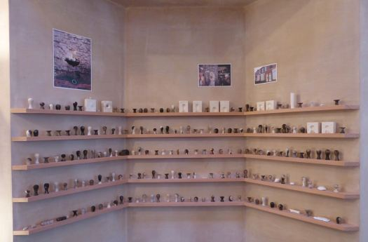 With all of the Granby Workshop products displayed, dramatically.