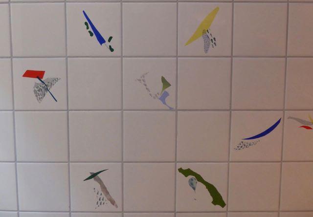 Tiles too.