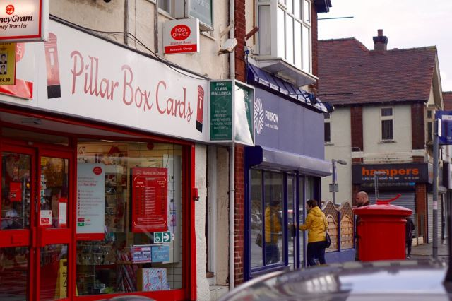 Furrow, Allerton Road, just next to the Post Office - so's you know.