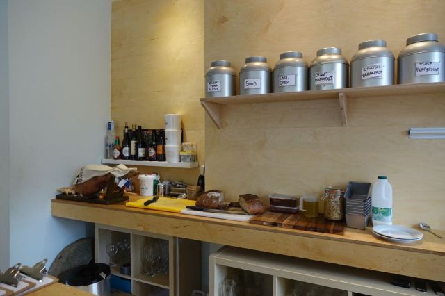 Good coffee, looseleaf teas and beer or wine if you want.