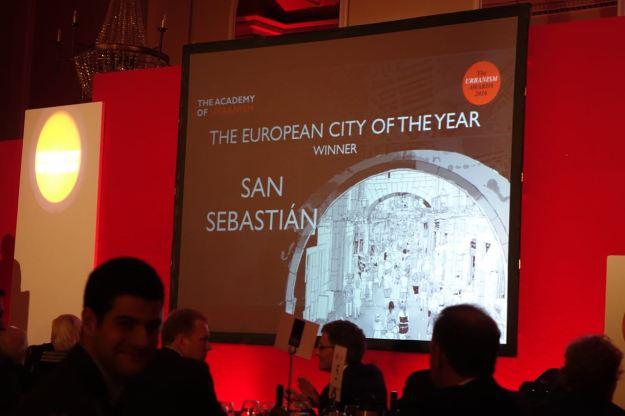 San Sebastián get European City.