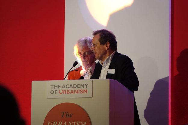 George Ferguson, architect and Mayor of Bristol is introduced.