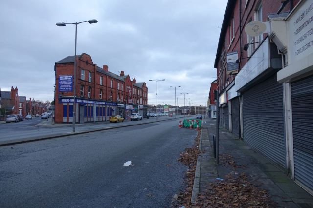 All quiet on Smithdown Road.