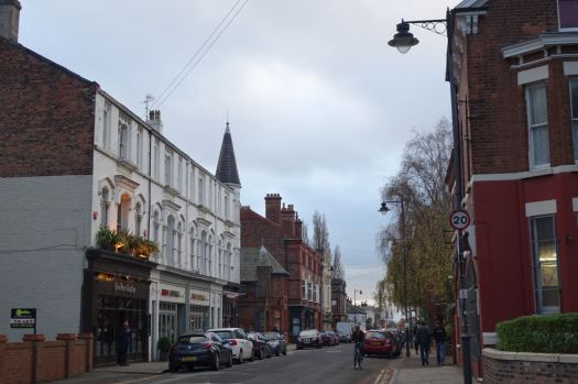A look along Lark Lane to make sure the glory that is the Lark Lane Christmas lights has not yet joined us.